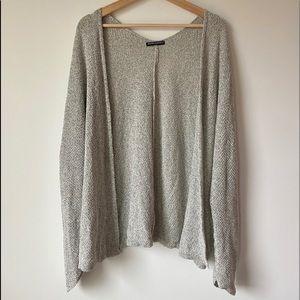 Brandy Melville Grey Knit Cardigan / OS